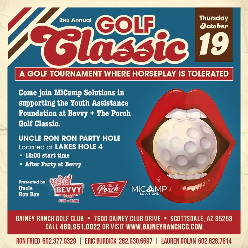 Uncle RonRon's Riot Group Charity Classic